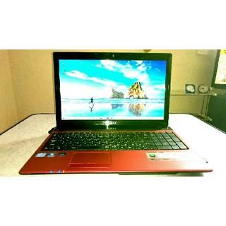 Acer ノートパソコン Aspire AS5750-F58D/LR レッド