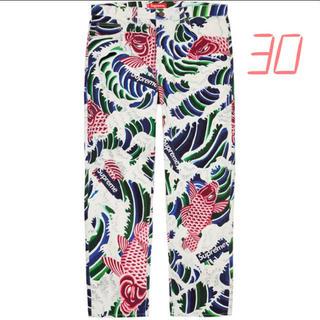 シュプリーム(Supreme)のSupreme Waves Regular Jean 30 Multicolor(デニム/ジーンズ)