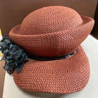 ミサハラダ(misaharada)のミサハラダ misaharada ラフィアハット 帽子(麦わら帽子/ストローハット)