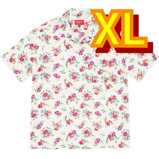 Supreme - supreme floral rayon shirt シュプリーム フローラル