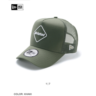 エフシーアールビー(F.C.R.B.)の20SS FCRB NEWERA MESH CAP カーキ メッシュキャップ(キャップ)