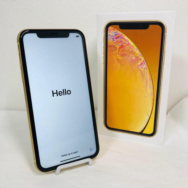 iPhone(アイフォーン)のiPhone XR 64GB MT082J/A SIMフリー  98%  スマホ/家電/カメラのスマートフォン/携帯電話(スマートフォン本体)の商品写真