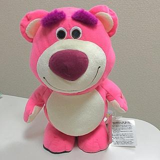 トイストーリー(トイ・ストーリー)のトイストーリー3に登場する ロッツォ ハグベアー ピンクの熊のぬいぐるみ 苺(キャラクターグッズ)