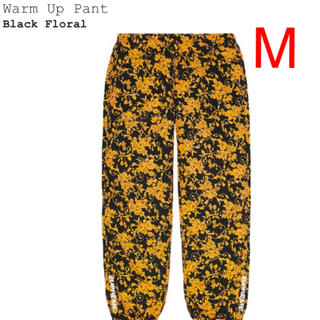 シュプリーム(Supreme)のSupreme warm up pant black floral M(その他)
