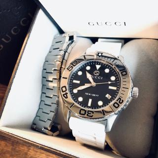 グッチ(Gucci)のGUCCI   Gタイムレス ダイバー 新品・未使用(腕時計(アナログ))