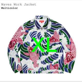 シュプリーム(Supreme)のXL Supreme Waves  Work Jacket Multicolor(Gジャン/デニムジャケット)