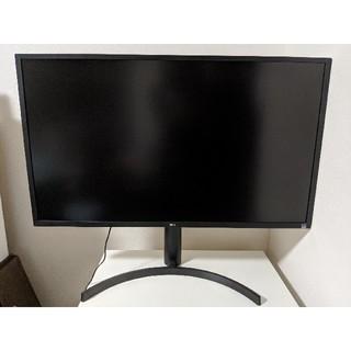 エルジーエレクトロニクス(LG Electronics)の4Kディスプレイ 31.5型(32UK550-B)(ディスプレイ)