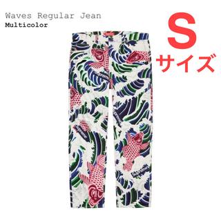 シュプリーム(Supreme)のSupreme:Waves Regular Jean 鯉 和柄(デニム/ジーンズ)