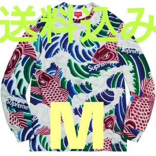 シュプリーム(Supreme)のSupreme Waves L/S TopMulticolor M 鯉 ロンT(その他)