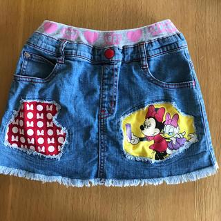 ディズニー(Disney)の◎ベビードール◎ ミニー デニムスカート 130(スカート)
