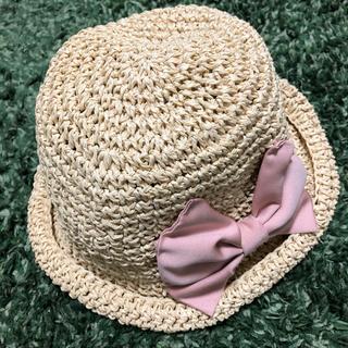 ジルスチュアートニューヨーク(JILLSTUART NEWYORK)の新品 ジルスチュアート ニューヨーク 帽子 ラフィア キッズ用(その他)