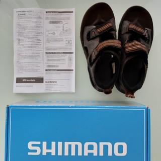 シマノ(SHIMANO)のシマノ SPD サンダル SH-SD66 37-38(ウエア)