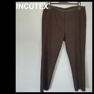 インコテックス(INCOTEX)のINCOTEX テーパードパンツ 40(クロップドパンツ)