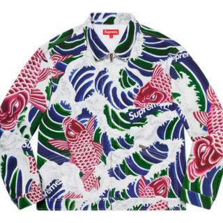 シュプリーム(Supreme)のsupreme waves work jacket(ブルゾン)