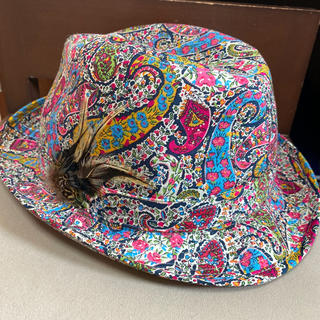 ミサハラダ(misaharada)のミサハラダ misaharada 帽子 ハット 綿100%(ハット)