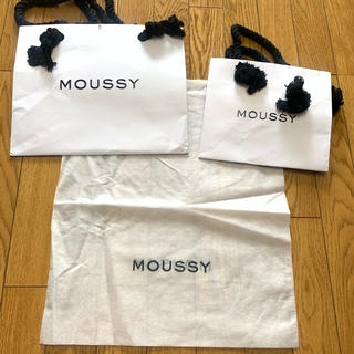 マウジー(moussy)のmoussy×ショプ袋×3(ショップ袋)