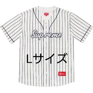 Supreme - Supreme20ss week14 Baseball Jersey 白L 送込