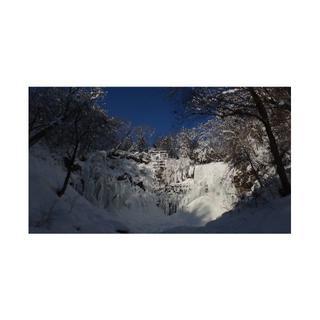 #51 氷瀑の写真 ハイビジョンサイズ(写真)
