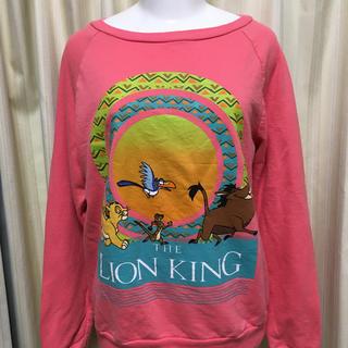 ディズニー(Disney)の日本未発売 ライオンキング トレーナー ディズニー Tシャツ シンバ プンバァ (トレーナー/スウェット)