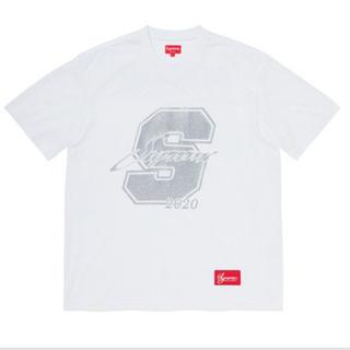 Supreme - 【Mサイズ】Supreme Glitter Football Top White
