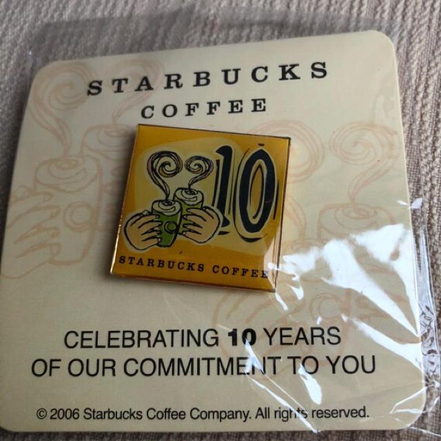 Starbucks Coffee(スターバックスコーヒー)のSTARBUCKSピンバッジ 10 エンタメ/ホビーのコレクション(ノベルティグッズ)の商品写真