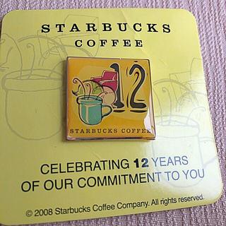 Starbucks Coffee - STARBUCKS ピンバッジ 12