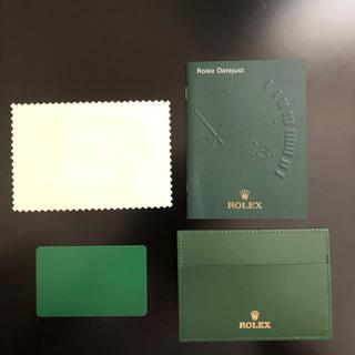 ロレックス(ROLEX)のロレックス 付属品 カード入れなど(その他)