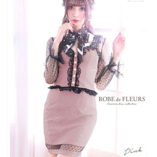 ROBE - ROBE de FLEURS セットアップドレス