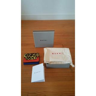 マルニ(Marni)のMARNI(マルニ)3色カラー3つ折りミニ財布(財布)