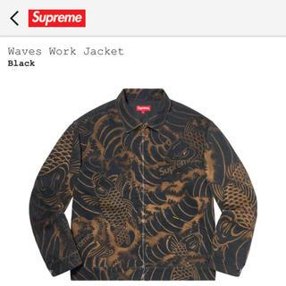 Supreme - supreme waves work jacket M