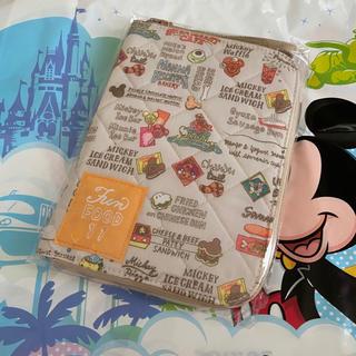 ディズニー(Disney)のディズニー パークフード柄 母子手帳 ケース(母子手帳ケース)