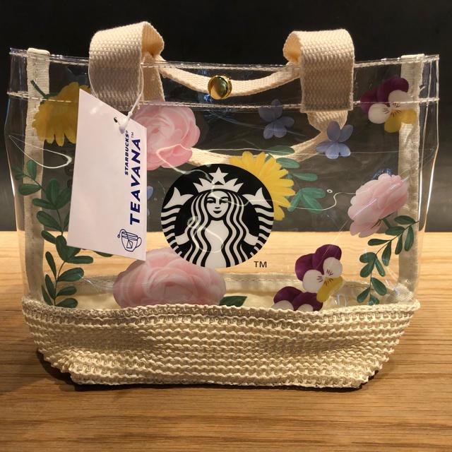 Starbucks Coffee(スターバックスコーヒー)のスターバックス ミニバッグ / トートバッグ バッグ ティバーナ ビニールバッグ エンタメ/ホビーのコレクション(ノベルティグッズ)の商品写真