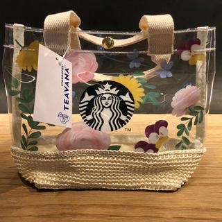 Starbucks Coffee - スターバックス ミニバッグ / トートバッグ バッグ ティバーナ ビニールバッグ