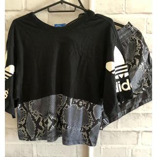 アディダス(adidas)のアディダスオリジナルス adidas 蛇柄 tシャツ ショートパンツ(Tシャツ(半袖/袖なし))