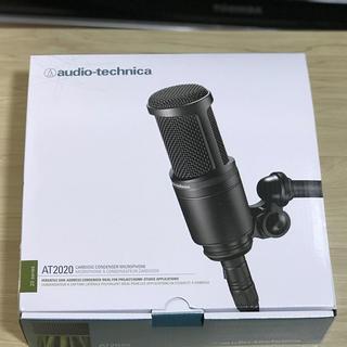 オーディオテクニカ(audio-technica)のAT2020 audio-technica 高品質 コンデンサマイク(マイク)