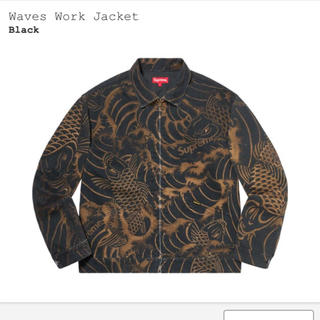 Supreme - Supreme Waves Work Jacket L