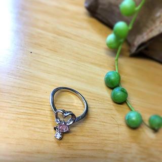 ローズクウォーツのハートの指輪(リング(指輪))