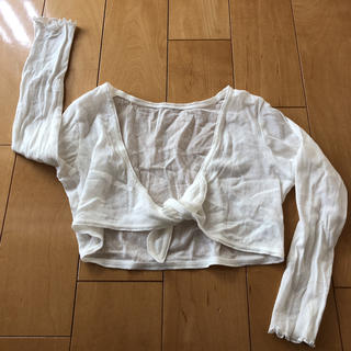チャコット(CHACOTT)の日本製♫チャコット♫バレエ♫ボレロ♫カーディガン♫キッズM(カーディガン)