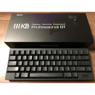 富士通 - 【PFU】HHKB Professional BT 英語配列 墨 無刻印