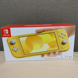 Nintendo Switch - 【即日発送・送料無料】任天堂Switch lite ライト イエロー 本体