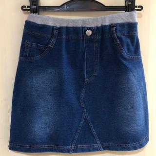 ジーユー(GU)の未使用 GU デニムスカート 150(スカート)