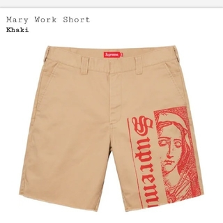 Supreme - supreme Mary Work Short 32  supremeショートパ