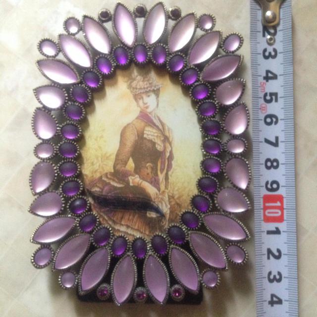 ANNA SUI(アナスイ)のビジュー フォトスタンド エンタメ/ホビーのアート用品(写真額縁)の商品写真
