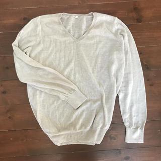 ユニクロ(UNIQLO)のUNIQLO リネン100%セーター(ニット/セーター)