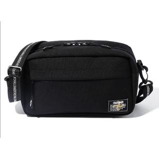 NEIGHBORHOOD - CHALLENGER SHOULDER BAG Black 黒 チャレンジャー