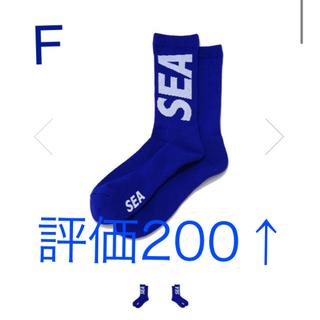 シー(SEA)の WDS × CHICSTOCKS RIB SOX / BLUE × 1(ソックス)