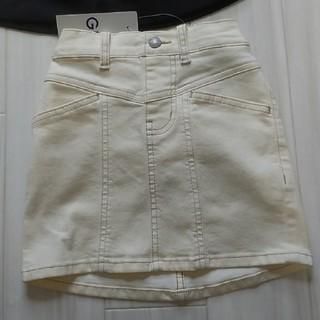 ジーユー(GU)のGU デニムスカート 100センチ(スカート)