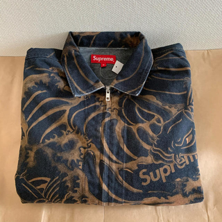 Supreme - 20ss 新品 黒 M supreme waves jacket