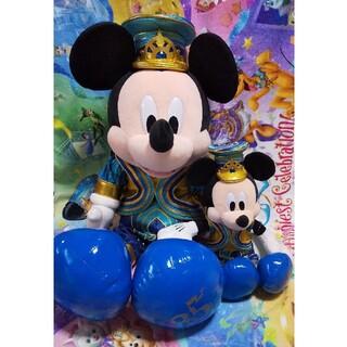 ミッキーマウス(ミッキーマウス)の【4/30までの特価】ディズニー35周年ミッキーぬいぐるみ¥18000(キャラクターグッズ)