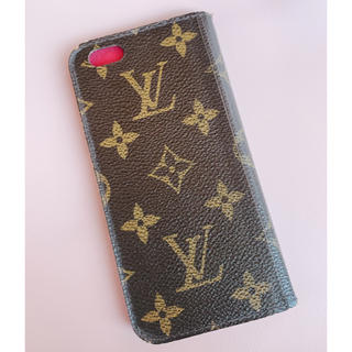 LOUIS VUITTON - LOUIS VUITTON ルイヴィトン iphone8 モノグラム フォリオ